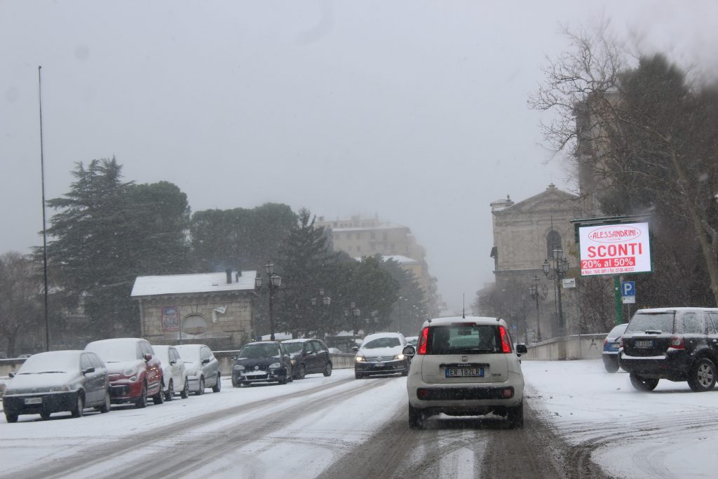 Allerta meteo, scattato il Piano neve. Transito regolare ...