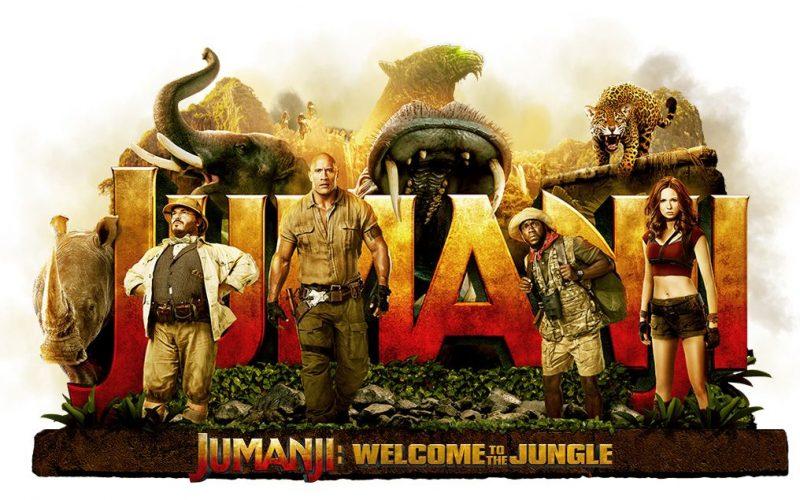 """""""Jumanji"""" torna sul grande schermo ma piovono critiche"""
