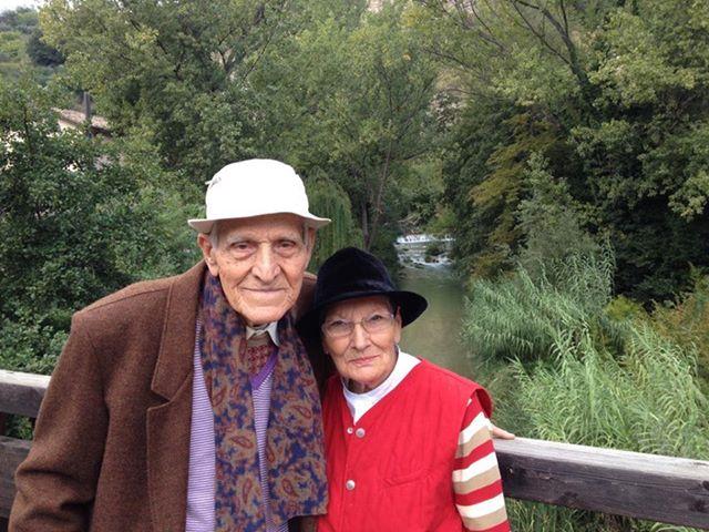 Auguri a Guido e Domenica, sposati da 70 anni