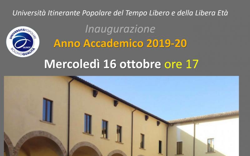 Si inaugura il 13° anno dell'Università della Terza età