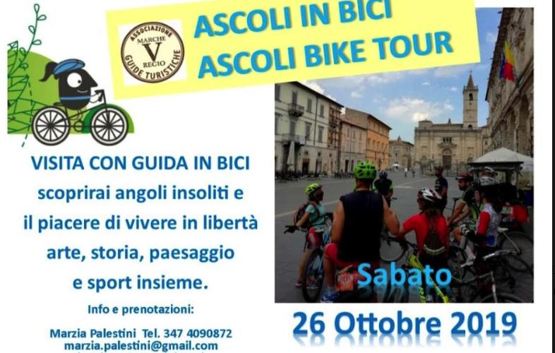 """""""Marche V Regio"""" propone una visita di Ascoli in bicicletta"""