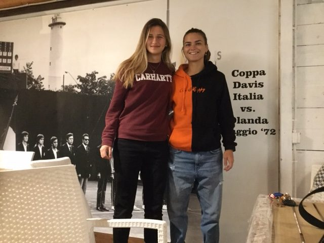 Paola e Alice, campionesse di padel