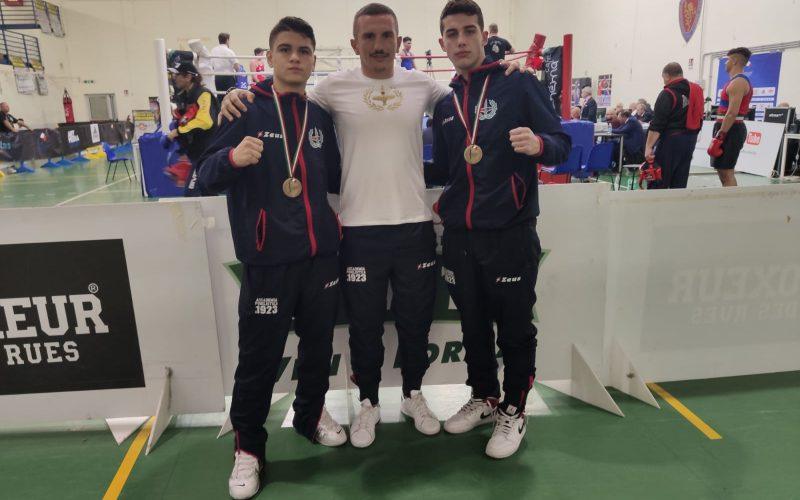 Campionati nazionali di pugilato ,due giovani sambenedettesi sul podio