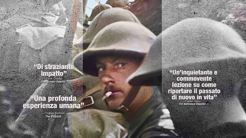 "Il CineOcchio – ""They shall not grow old – Per sempre giovani"", la grande guerra riportata in vita da Peter Jackson in un documentario unico"