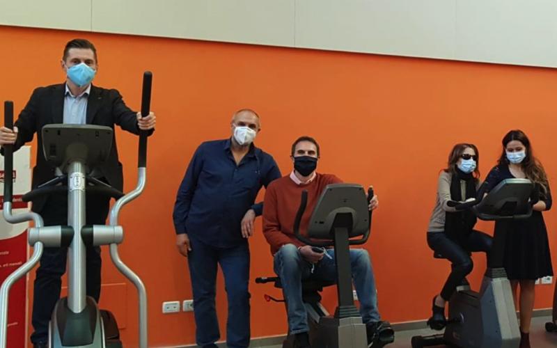 Una mini palestra donata all'Unione ciechi di Ascoli