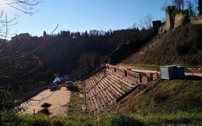 Partiti i lavori di restauro del Teatro delle Fonti, Ripatransone riavrà la sua arena degli eventi