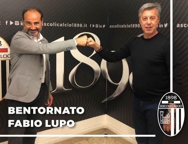 Ascoli, Fabio Lupo è il nuovo direttore sportivo